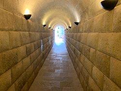 Inca tunnel entrance.