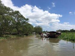 Mekong river delta - Tradition Sampan ride