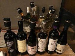 15種類のワイン飲み放題