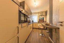 Küche Apartment Im Tal