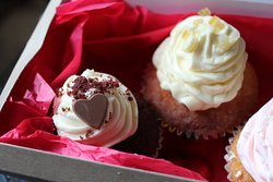 Valentines cup cakes