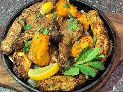 Starters dishes at Kashmiri Aroma Bradford