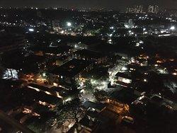 Noční výhled z 12.patra