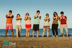 Mi grupos  de buceo @WeDive en día libre