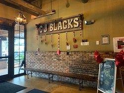 Lobby at CJ Blacks