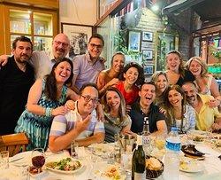 We are big family  ! #istanbul #beyoğlu #meyhane #restaurant #bestfoodistanbul #fishistanbul #istanbulfood #drinkistanbul #gurmeistanbul #travelistanbul #taksimfood #taksimdrink #kebapistanbul #yemeknerdeyenir #meyaneistanbul #meyhanebeyoğlu #meyhanetaksim