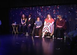 """Cast of """"LOVE in the USA"""" cabaret performance"""