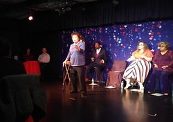 """Marissa in """"LOVE in the USA"""" cabaret performance"""