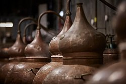 200 litre copper pot alembic stills, customised and tailor made to our requirements.