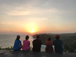 Awesome place to go, sunset time would be lovely for such great view. We go there with Aminto, he is a professional driver and also being tour guide for us, such a nice & friendly person.