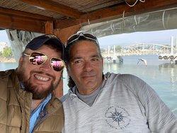 Pastor Hogan and Daniel