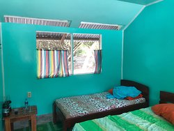 Bedroom in the Urusji lodge