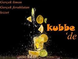 Tarihi Kubbe Cafe Restaurant. Yöresel içecekler ile... Tarsus.