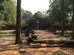 Approach to the Temple;