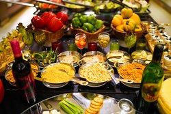 Salad Counter  Evershine Cafe