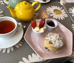 A very good cream tea