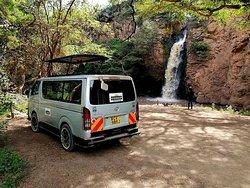 The modest Makalia Falls, at the extreme southern end of the Lake Nakuru National Park #sunupadventures #safari #holidays #Africa #kenyasafari #lakenakurunationalpark Email info@sunupadventures.com Web www.sunupadventures.com
