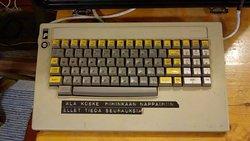 Lopuksi kannettavan lyhyet käyttöohjeet 1980-luvun alusta.