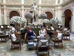 Café y jardines..un te en palacio