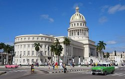 Le très beau Capitole de La Havane inspiré der celui de Washington DC