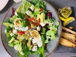 Quinoa salad( protein salad)