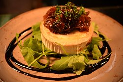 Our Goats Cheese with Tomato and Mint Salsa