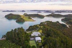 Paroa Bay Winery- Villa Accommodation.