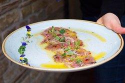 #fishzelenish #novisad #carpaccio #bestofserbia #mediterraneancuisine #fishizelenis