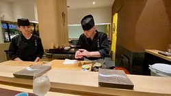 Chef Nagai and Chef Victor