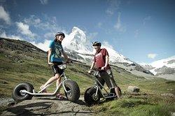 Dirt Scooter Riding Zermatt