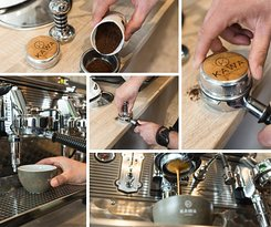 How we make our coffee! Everyday made with care and love!!