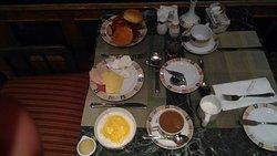 oriental Egyptian food (breakfast in cairo pyramids  Hotel)