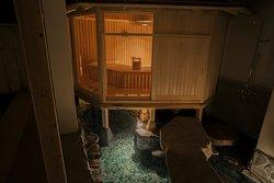 茶室サウナ(月の湯)/Tea-house sauna