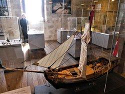 replica of a sloop built from wood of the 'Zeewijk'