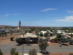 Museum of the Goldfields - view north from head-frame.
