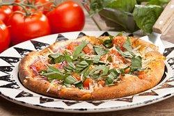 Tomato & Basil Pizza.