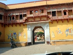 Entrance to Chanoud Garh