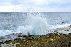 Blowhole at Grand Cayman