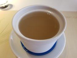 Dish water tasteless soup