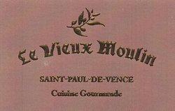 carte de visite du Vieux Moulin