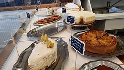 The Patissere counter