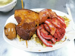 A-Yi's Pig Knuckle Over Rice
