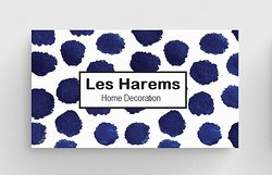 Les Harems Business card