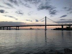 SF Bay Bridge from Treasure Island