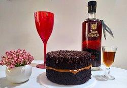 Torta de Chocolate y Arequipe