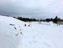 snowman, snow park