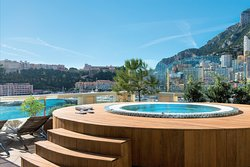Le Jacuzzi des Thermes Marin Monte-Carlo