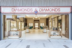 Diamonds & Diamonds, rosa center. your new shopping experience. we have gold and diamond jewellery,  Swiss watches and more. Come and check us out.