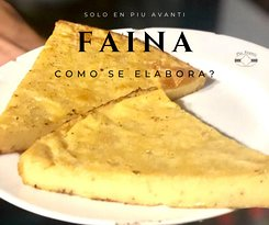 Contamos con nuestra receta especial El Faina. Elaborada con harina de garbanzo, ideal para acompañar nuestras pizzas