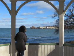 The view of Fort Niagara